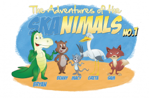 Meet the SKAnimals! Courtesy of the International SKA Office, learn more about the Square Kilometre Array from the SKAnimals.